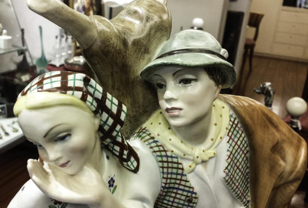 buy online 98d61 3f23d Scultura in ceramica - Abele Jacopi - Lenci 1940 - Vendita ...